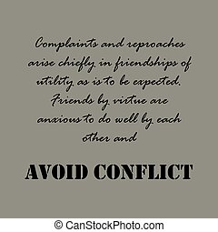 Aristotle Quotes. Complaints and reproaches...