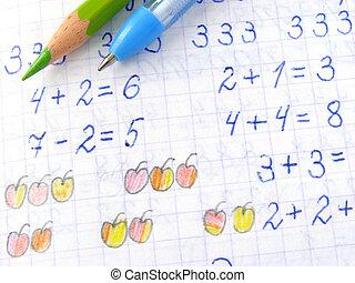 arithmétique, leçon