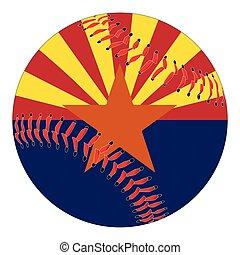Arizona Flag Baseball