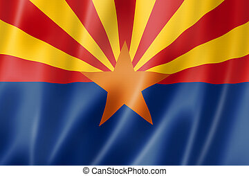 Arizona flag, USA