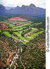 arizona, -, golf, land