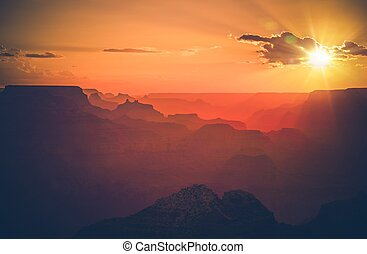 Arizona Grand Canyon Sunset