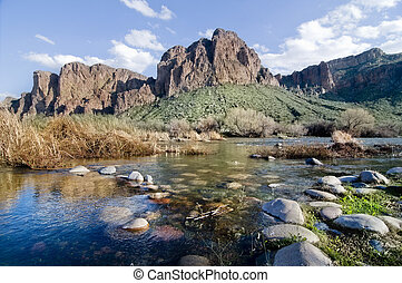 Arizona landscape - Beautiful majestic Arizona landscapre
