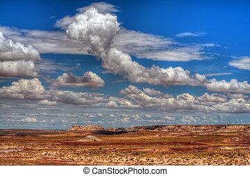 Arizona Painted Desert - The painted desert in northeastern ...
