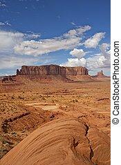 arizona, paisaje del desierto