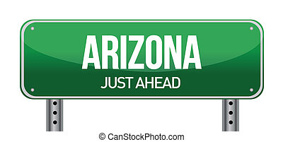 arizona, panneaux signalisations