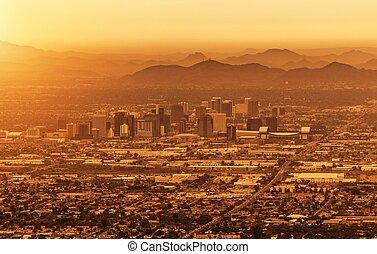 arizona phoenix, cityscape