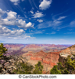 arizona, punto, madre, parque, anfiteatro, cañón, magnífico