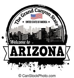 Arizona stamp