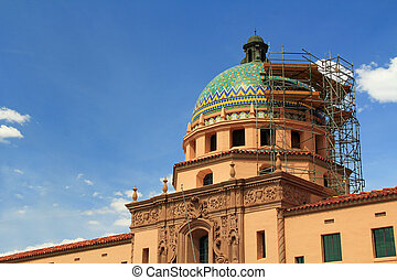 Arizona State Capital Building Being Repaired - The Arizona...