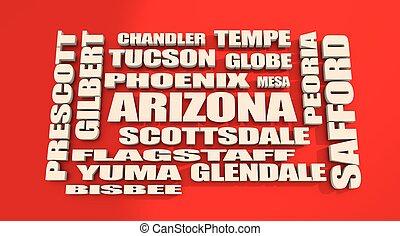 Arizona state cities list