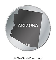 Arizona State Coin