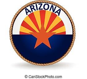 Arizona State Seal - Seal of the American state of Arizona.