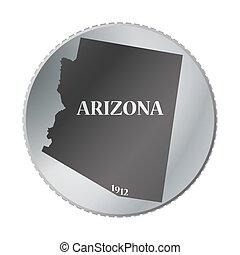 arizona tillstånd, mynt