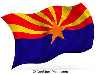 Arizona (USA) flag