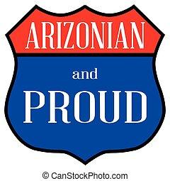arizonian, orgulhoso