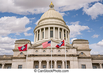 Arkansas Capitol Building in Little Rock