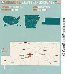Arkansas: Saint Francis county