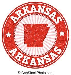 Arkansas stamp
