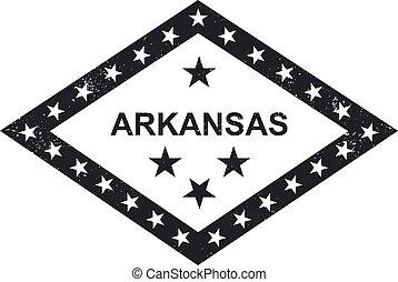 Arkansas state flag symbolic