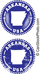 Arkansas USA Stamps