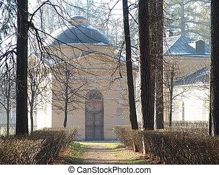 manor - Arkhangelskoe manor building