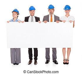 arkitekter, holdingen, affisch