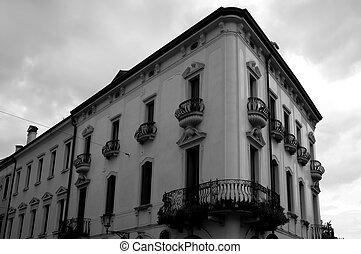 arkitektur, italiensk