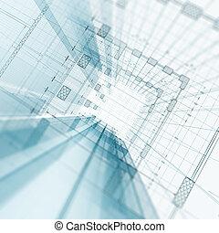 arkitektur, konstruktion
