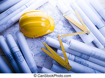 arkitektur, planerande