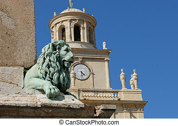 Arles - Spring at Republique place