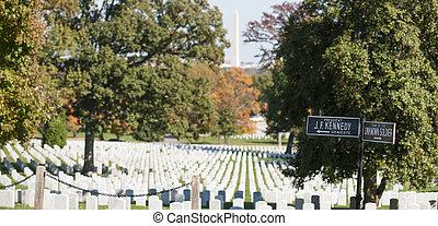 arlington, 國家, cemetery.