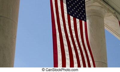 Arlington Amphitheater Flags One - Arlington National...