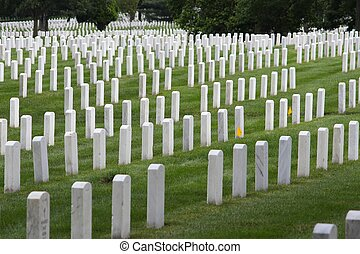 Arlington National Cemetery, Virginia, United States. US...