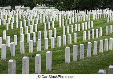Arlington National Cemetery, Virginia, United States. US...