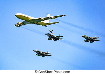 armée air, mid-air, refueling