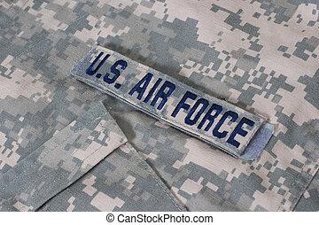 armée air, nous, uniforme