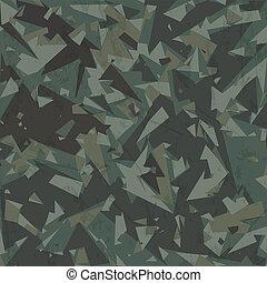 armée, camouflage, fond, vecteur
