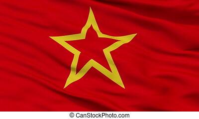 armée, seamless, drapeau, closeup, rouges, boucle