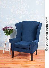 Arm chair in interior