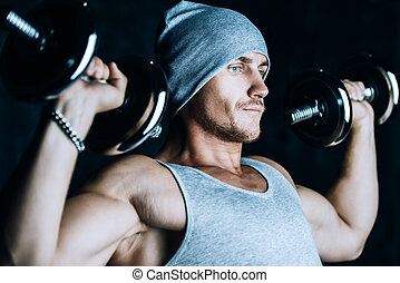 arm muscles training