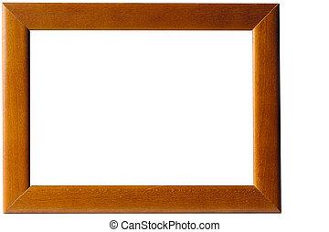 armação madeira quadro