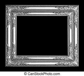 armação quadro, prata