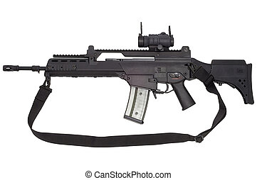 arma, automático, g36
