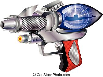arma de fuego, espacio
