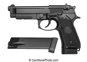 arma de fuego, semiautomático