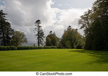 Armadale castle front garden - View from the front of...