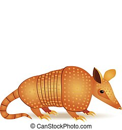 Armadillo cartoon