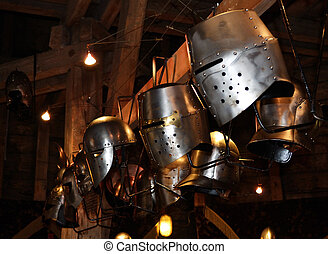 armadura, detalle,  knight's