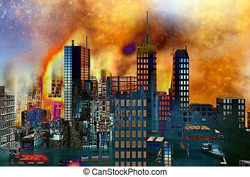 Armageddon in New York - Armageddon in New York